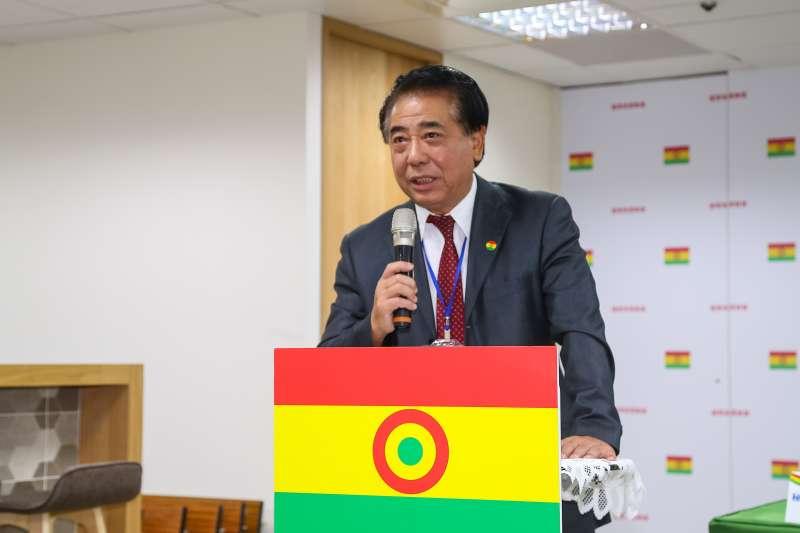 20191029-國會政黨聯盟29日舉行第10屆立委提名記者會,秘書長高國慶於記者會致詞。(顏麟宇攝)