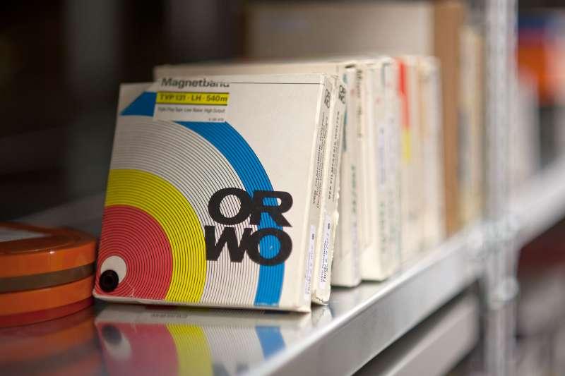 史塔西檔案局留下的磁帶檔案紀錄。(BStU官網)