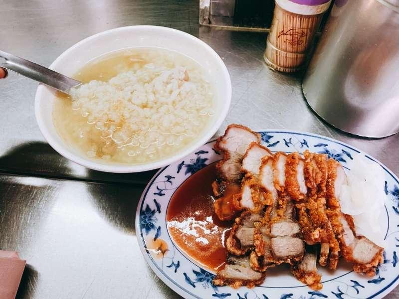 葉家肉粥(圖/風傳媒)