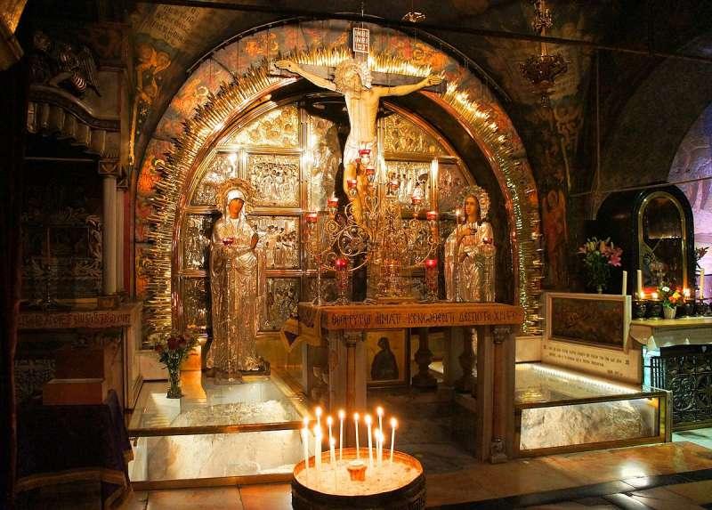聖墓教堂內的耶穌聖像(Ondřej Žváček@Wikipedia/ CC BY 3.0)
