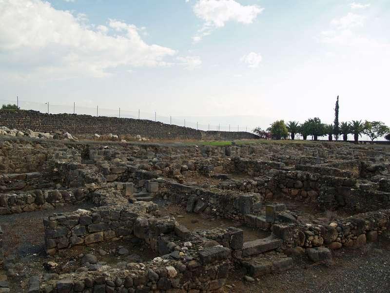 這裡被相信是古羅馬時期迦百農的遺跡。據稱耶穌開始傳道時,即遷居此地。(David Shankbone @Wikipedia/ CC BY 3.0)
