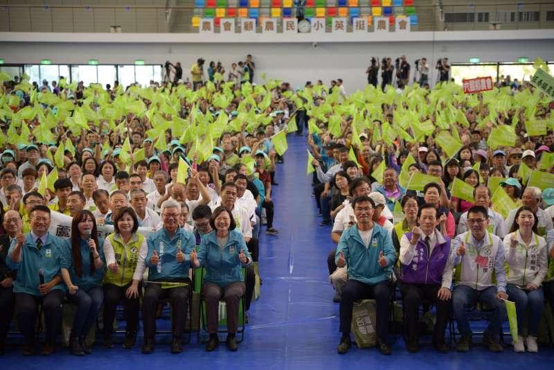 20191102-「2020蔡英文總統連任全國各級農會後援會」今在台南成立,全國300個農會,共有176個表態挺蔡英文。(蔡英文競選辦公室提供)
