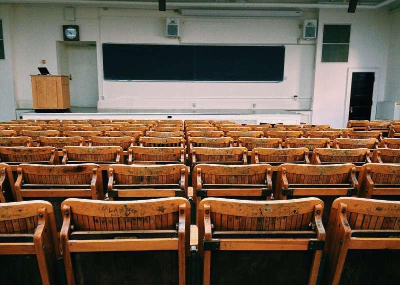 教室,教育,教學,學校,演講,空教室。(示意圖,取自pixabay)
