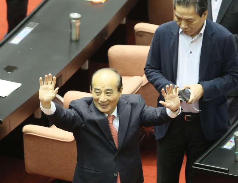 如果最終宋楚瑜自行參選,前立法院長王金平(前)的總統夢恐破滅。(柯承惠攝)