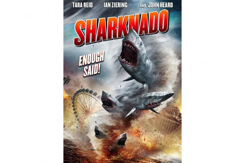 瘋人院影業原創的《鯊捲風》系列大受歡迎。(圖/IMDb)