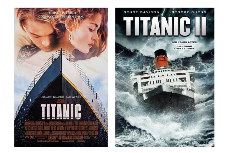 鐵達尼號有了續集,卻不是原公司拍的......。(圖/IMDb)