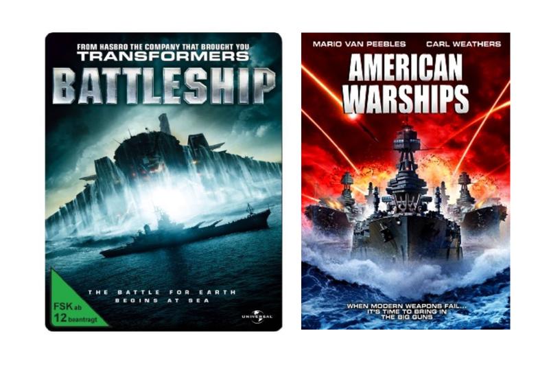 《超級戰艦》與《美國軍艦》。(圖/IMDb)