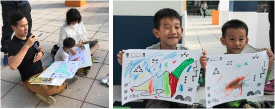 不只是小孩,AR繪畫工作坊歡迎大朋友一起參與,畫出自己的風格。(圖/臺北文創)