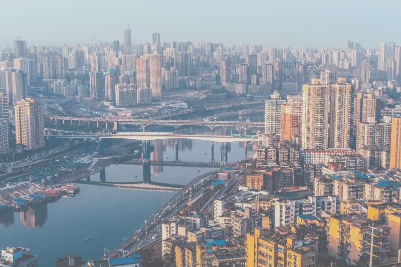 中國,重慶,城市空拍,房地產,中國經濟。(Photo by Ming Chen on Unsplash)