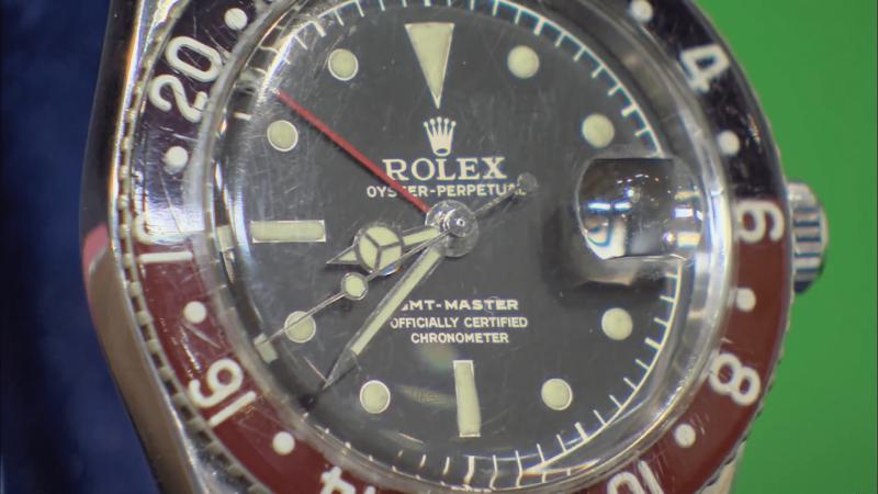 勞力士在1954年與美國泛美航空合作推出的GMT腕錶。(圖/wornandwound)