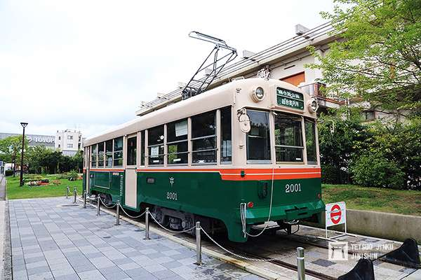 日本第一個擁有路面電車的京都市電,在1978年廢止。(攝影:陳威臣)圖/想想論壇