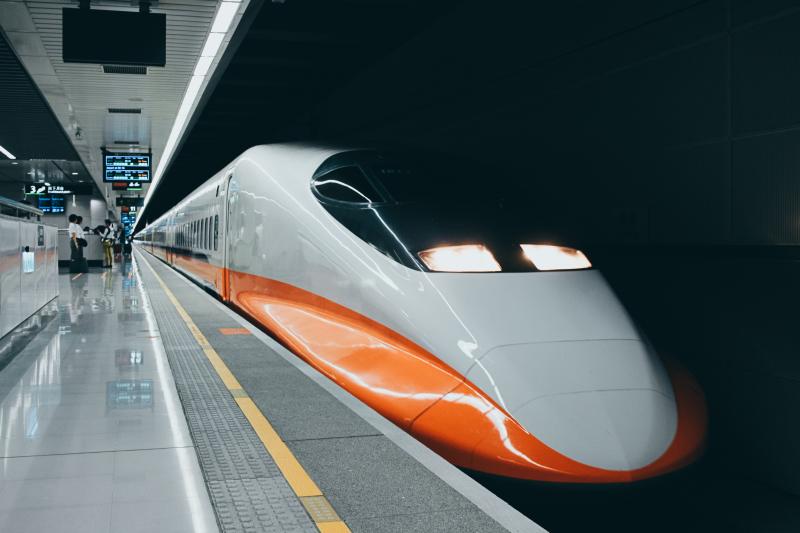 南港高鐵站。(圖/Flickr@waychen_c)