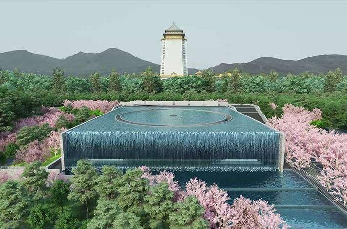 龍巖聘請獲普立茲克建築獎的日本建築藝術大師,設計了全台數座「光之系列」生命紀念館和殯儀會館(圖 / 龍巖提供)