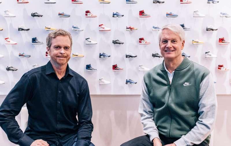 Nike新執行長John Donahoe(右),主要任務應為Nike推動數位轉型(圖片來源:Nike官網)