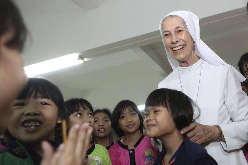 席佛瑞修女目前在泰國東北部烏隆他尼府的天主教女校「聖瑪利亞學校」擔任副校長(美聯社)