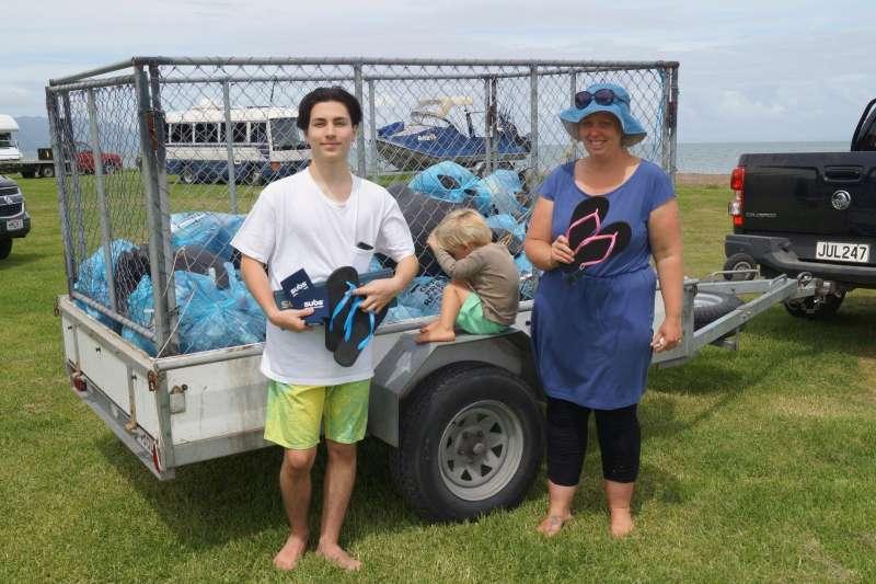 透過海廢再製夾腳拖,除了能夠宣揚減塑理念,之前也曾為紐西蘭的兒童慈善機構特製限量夾腳拖,每賣出一雙就會捐出售價一半的金額,幫助貧困孩童。(圖/Subs@facebook)