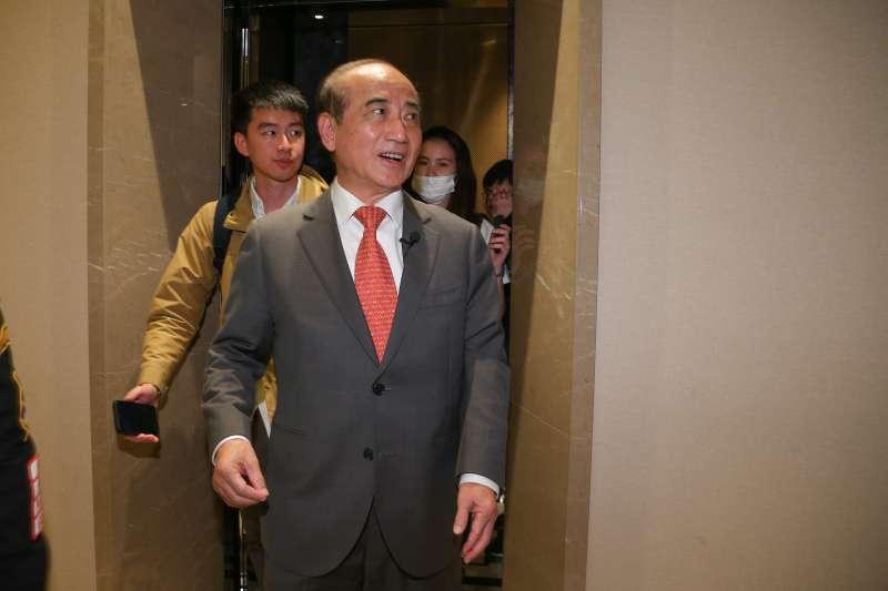 20191114-前立法院長王金平14日出席台灣國際發明得獎協會頒獎典禮。(顏麟宇攝)