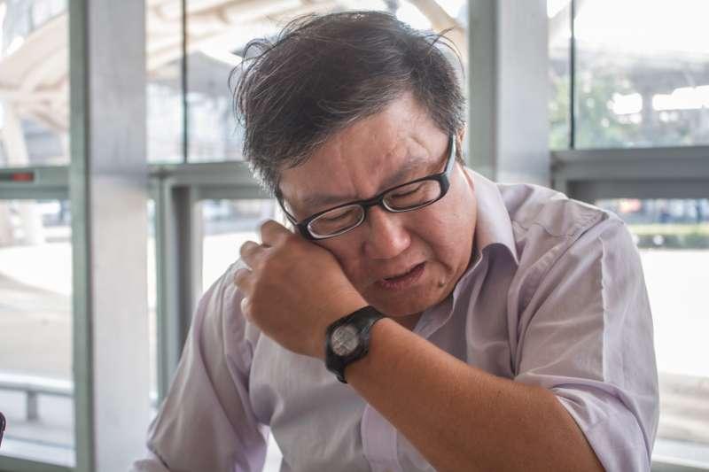 20191114-司改會協助個案,揭弊者戴立紳專訪。(蔡親傑攝)
