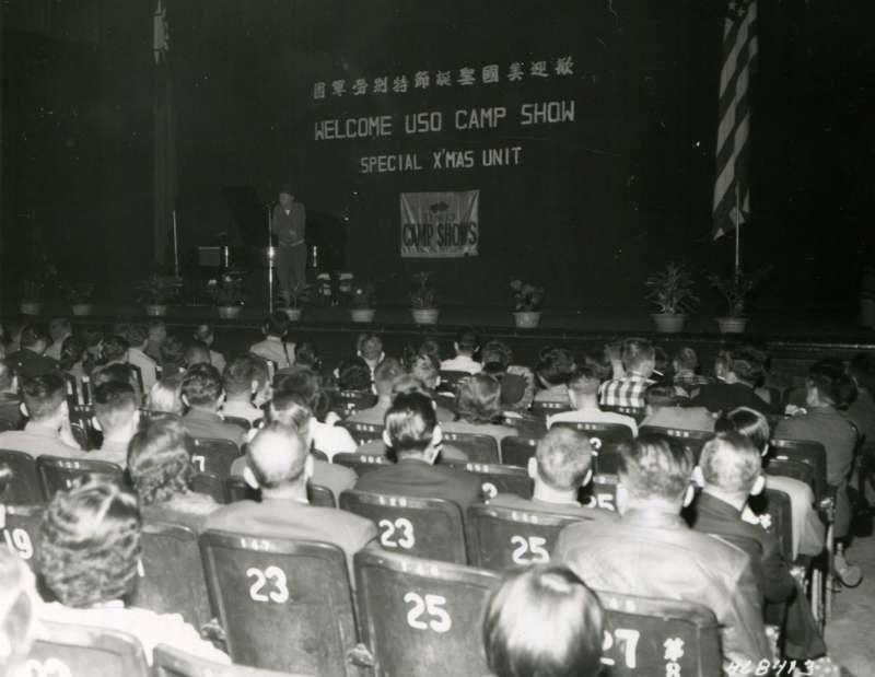 20191115-中華民國軍人之友總社在中山堂舉行歡迎美國聖誕節特別勞軍團。(圖/徐宗懋圖文館提供)