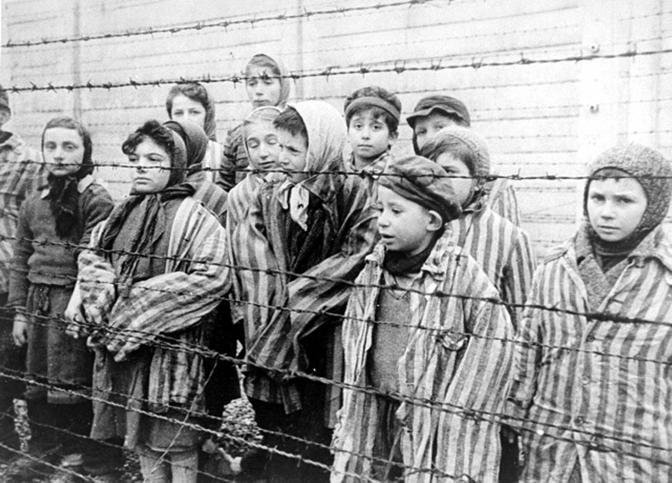 20191115-被關在納粹集中營裡的猶太兒童。(作者提供)