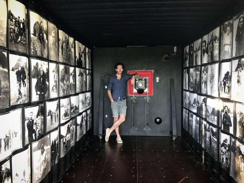 巴利與他的創意相機所拍攝出的作品(圖/Brendan Berry官網)