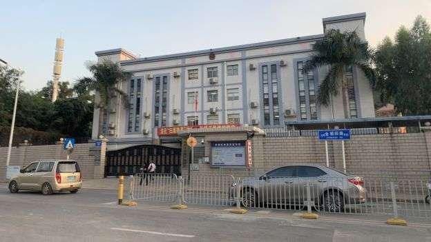 鄭文傑稱其在深圳被拘留的地方。(BBC中文網)
