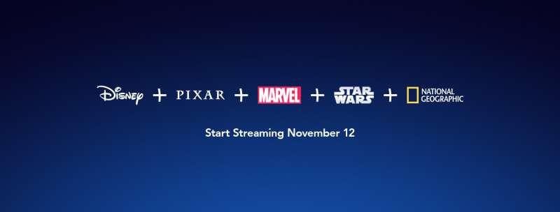 今年剛在北美上線的Disney+。(圖/取自Disney+臉書)