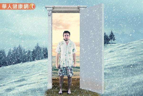 最近早晚氣溫變化劇烈,日夜溫差動輒10度上下,簡直到了「朝穿皮襖、午穿紗」的境界。(圖/華人健康網)