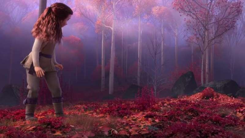續集中除了艾倫戴爾王國之外,又多了峽灣及魔法森林等新的場景。(圖/取自IMDb)