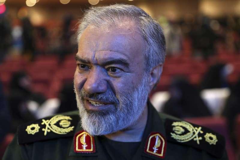 伊朗革命衛隊高階指揮官法達威稱此次暴動是由美國策劃,稱會鞏固國內網路不受美國干預。(AP)