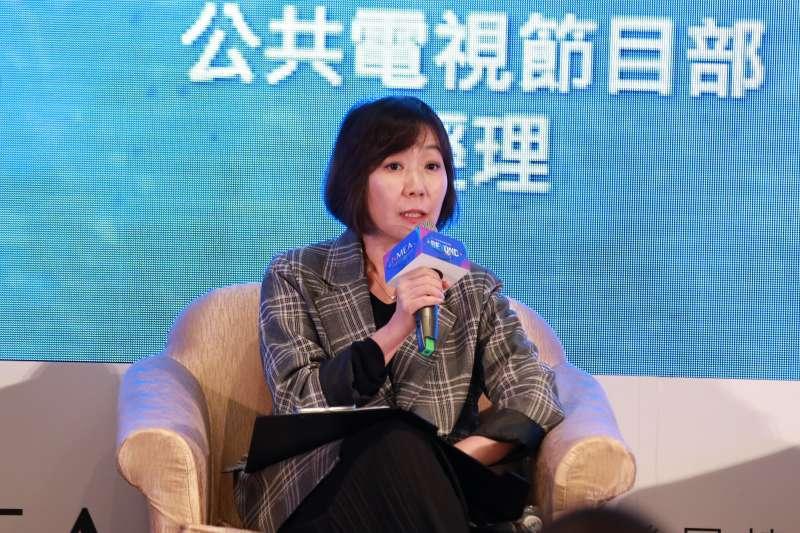20191125-新媒體暨影視音發展協會(NMEA)25日舉辦亞洲新媒體高峰會。圖為三立節目部資深副總經理王淑娟。(NMEA提供)