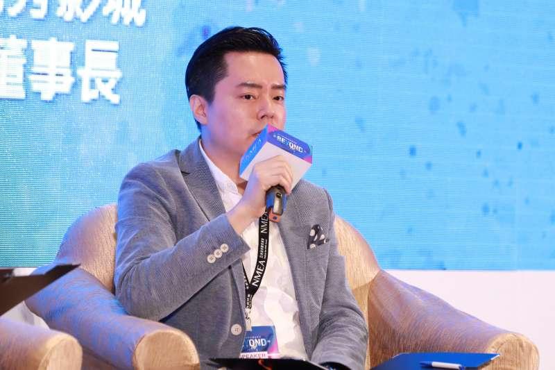 20191126-新媒體暨影視音發展協會(NMEA)舉辦為期2日的亞洲新媒體高峰會。圖為秀泰集團總經理廖偉銘。(NMEA提供)