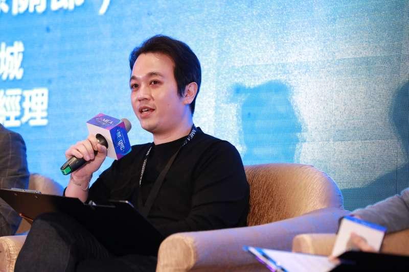 20191126-新媒體暨影視音發展協會(NMEA)舉辦為期2日的亞洲新媒體高峰會。圖為威秀影城董事長吳明憲。(NMEA提供)