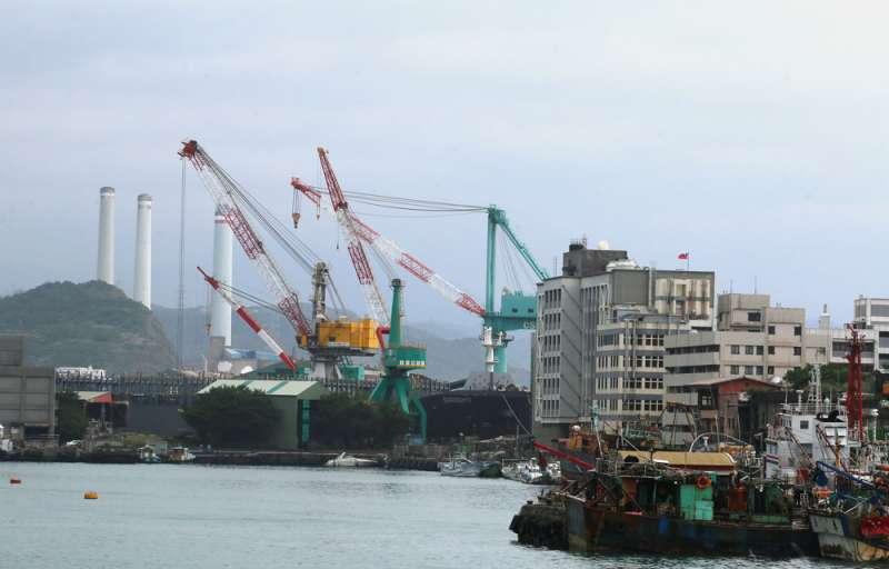 傳出在國安高層的支持下,台船基隆廠設立潛艦產業園區已是「現在進行式」。(柯承惠攝)