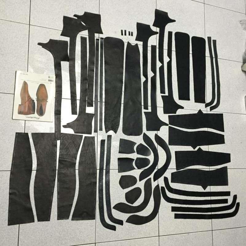 MTO款:CYC Handmade Shoes為顧客設計的大腿靴部件全一覽。(圖/CYC Handmade Shoes官方臉書粉絲頁)