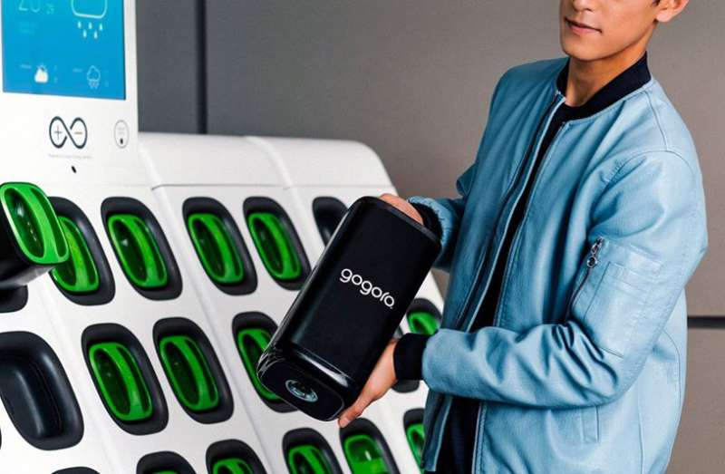 Gogoro Network換電系統的穩定與可靠,見證了一個成功的營運與商業模式。Gogoro更投入資金開發能量密度高、續航力更強的新一代電池、啟動電池回收技術發展,讓台廠供應鏈朝國際級目標前進。(圖/Gogoro)
