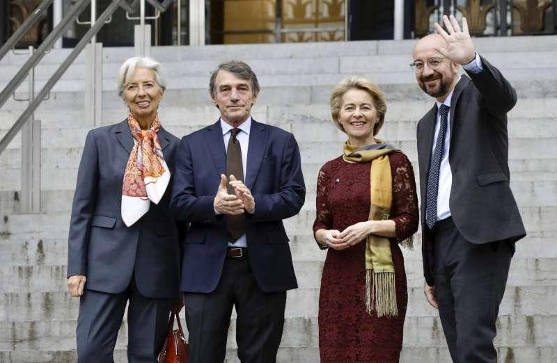 新任歐盟女主席馮德萊恩。(AP)
