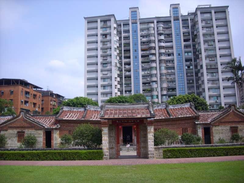 蘆洲李宅。(圖/維基百科)