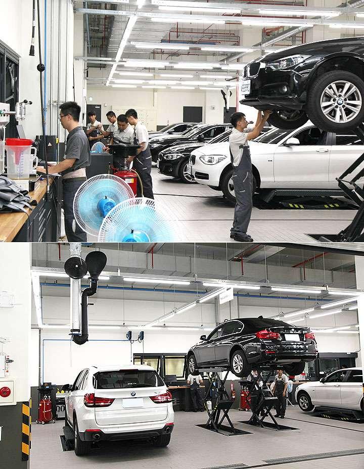BMW 車系不斷擴展,因此展示中心與維修廠的規模都必須大幅提升。(圖片取自u-car)