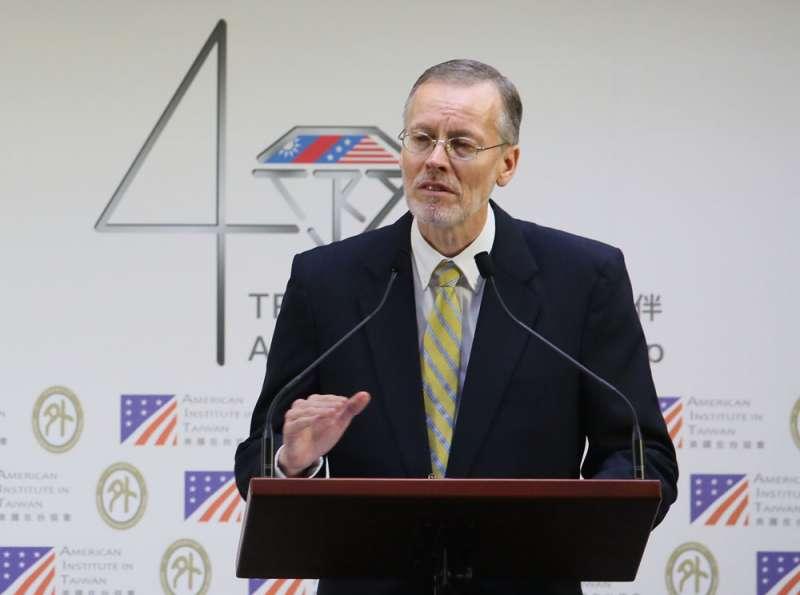 藍營對酈英傑帶領的AIT不忌諱介入台灣選舉相當意外。(柯承惠攝)
