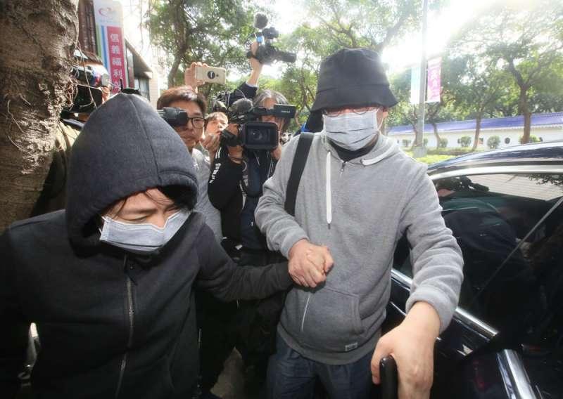 王立強共諜案爆發時,向心夫婦「恰巧」在台灣,遭檢調拘留訊問。(柯承惠攝)