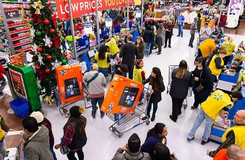 Walmart與Target等實體零售業,依託旗下數千家分店作為深入客戶週邊的倉庫,大打「隔日達」力抗亞馬遜。(圖片來源:Walmart)