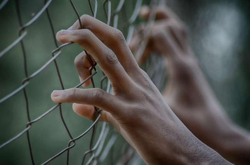 監獄,犯人,自由,監禁。(示意圖,取自pixabay)