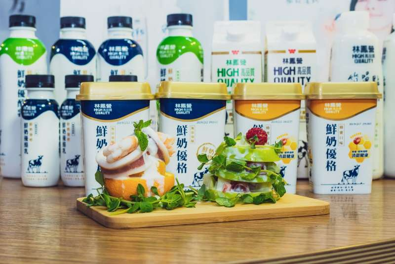 食品廠商新推出鮮奶優酪乳產品,強調不添加膠體等食品添加物且不使用乳粉原料。(圖/食品廠商提供)