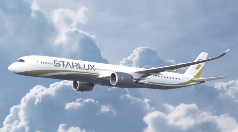 20191210星宇航空今年與空中巴士購買17架A350廣體客機,預計2021年底到2024年陸續交機(圖/星宇航空)