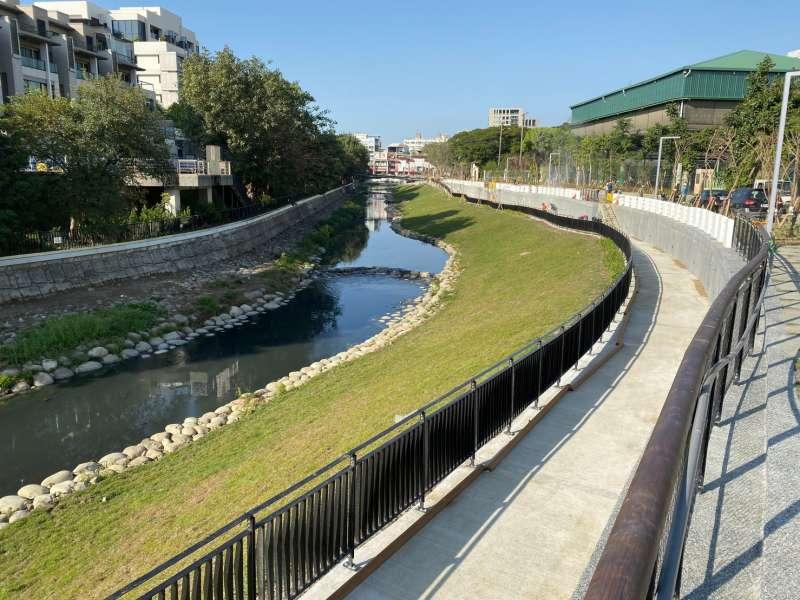 前瞻基礎建設補助臺南約8.53億元,改善竹溪、運河及月津港的環境。(圖/內政部提供)