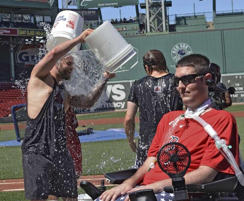冰桶挑戰發起人弗瑞茲與世長辭,他在罹患肌萎縮性側索硬化症(ALS)前曾是名棒球健將。(AP)