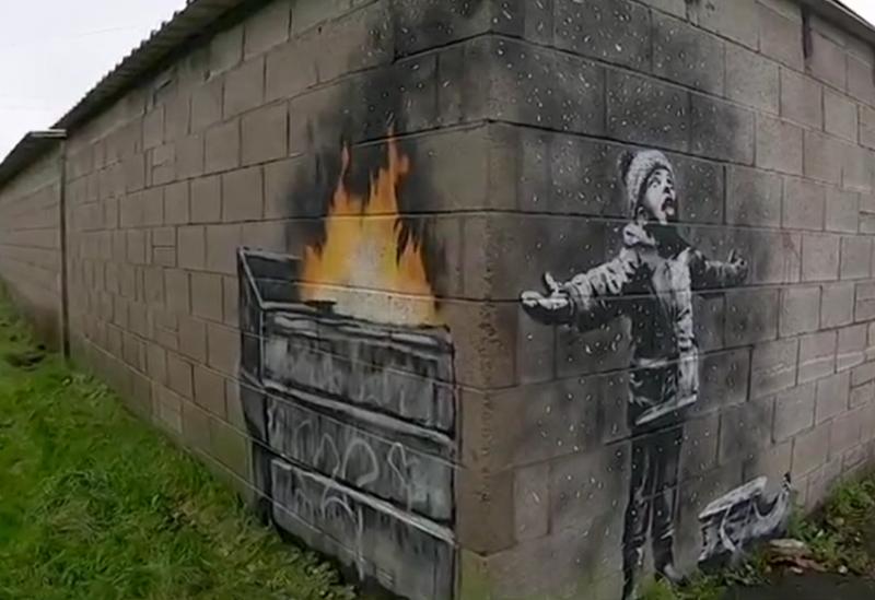 (圖/Banksy Instagram)