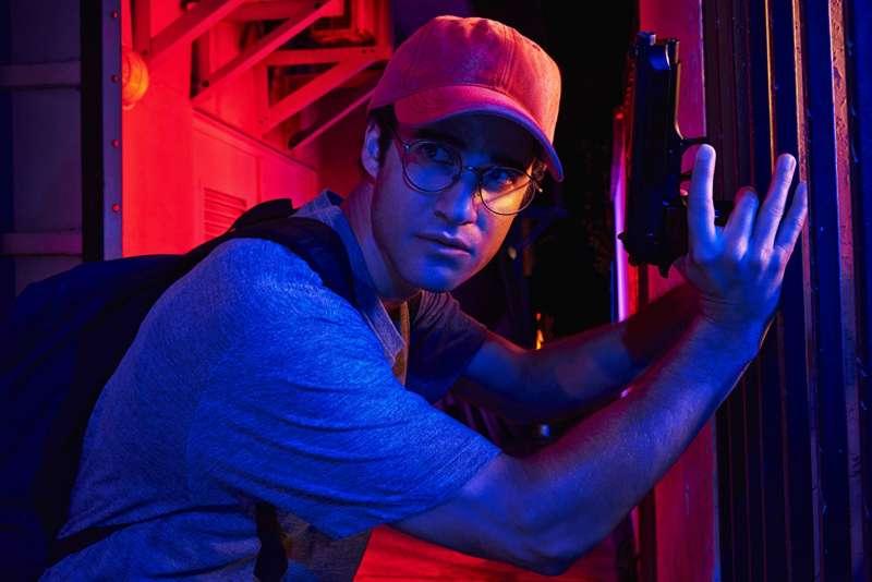 飾演連環殺手庫納南的演員達倫.克里斯(Darren Criss)一舉奪得第76屆金球獎的「最佳迷你電視影集男主角」。(圖/IMDb)