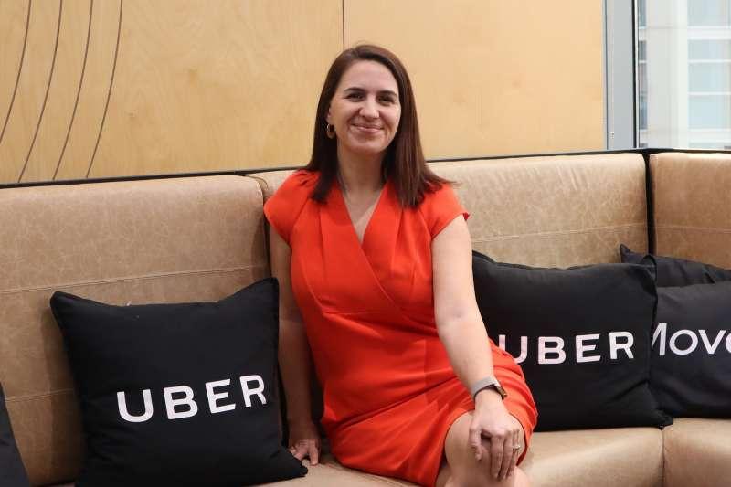Uber澳紐暨北亞地區總經理安德森(Susan Anderson)。(蔡娪嫣攝)